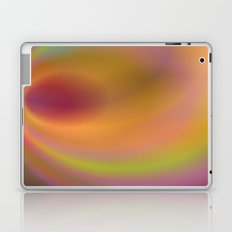 Orange color abstract Laptop & iPad Skin