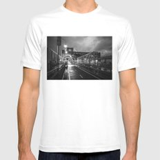 Welcome to Brooklyn Mens Fitted Tee White MEDIUM