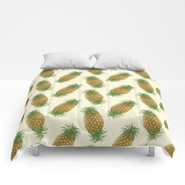 Genetically Engineered Pineapple Pattern Comforters