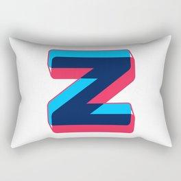 Letter Z Rectangular Pillow