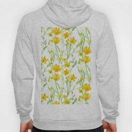 Yellow Field flowers Hoody
