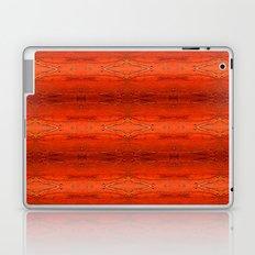 Rustic Orange Geometric Southwestern Pattern - Luxury - Comforter - Bedding - Throw Pillows - Rugs Laptop & iPad Skin