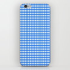 LINES in BLUE iPhone & iPod Skin
