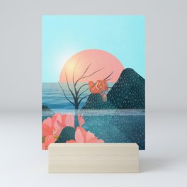 Botanical under the sea 1 Mini Art Print