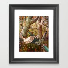Of Mice and Owls Framed Art Print