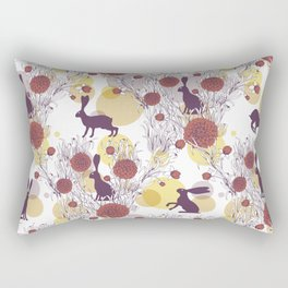 Ulha Hare and There P Rectangular Pillow