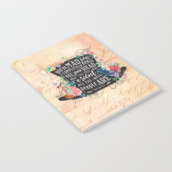 Mad Hatter Notebook