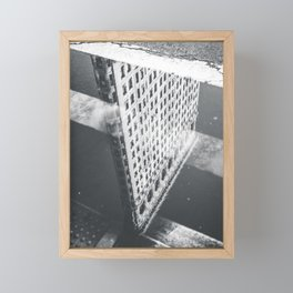 Flat Iron Building - NYC Reflection Framed Mini Art Print