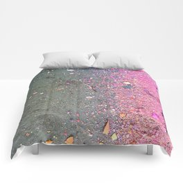Chalk Dust Confetti Pink Crush Comforters