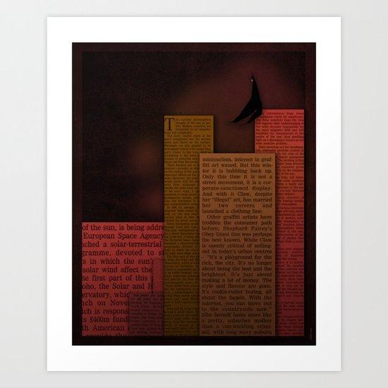 PAPER HEROES - Gotham Art Print