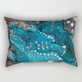 Jupiter Lineage Ink Botanical Rectangular Pillow