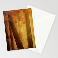 warm trees, summer breeze Stationery Cards