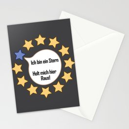 Brexit EU I Am A Star Funny Gift Stationery Cards