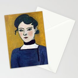 Henri Matisse Portrait of Marguerite Stationery Cards