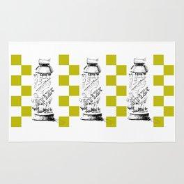 Triple Ice Tea Illustration Rug
