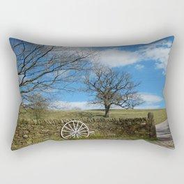 It's A Long Windy Road Rectangular Pillow