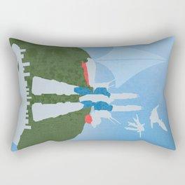 Protoculture Skies - No Girl Rectangular Pillow
