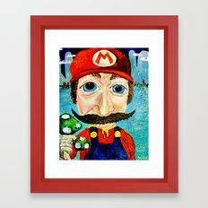 1up Framed Art Print