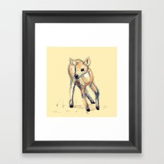 Wobbly Deer Framed Art Print