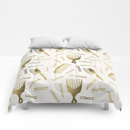 Good Hair Day – Gold Palette Comforters