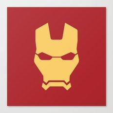 Iron man superhero Canvas Print