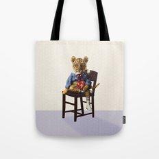 Tiny Tiger Valentine Tote Bag