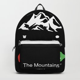 The Mountains Are Calling Backpack