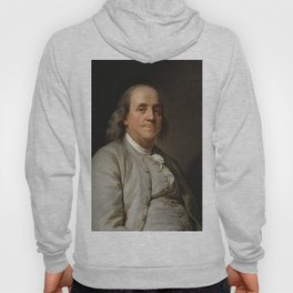 Benjamin Franklin Oil Painting Hoody