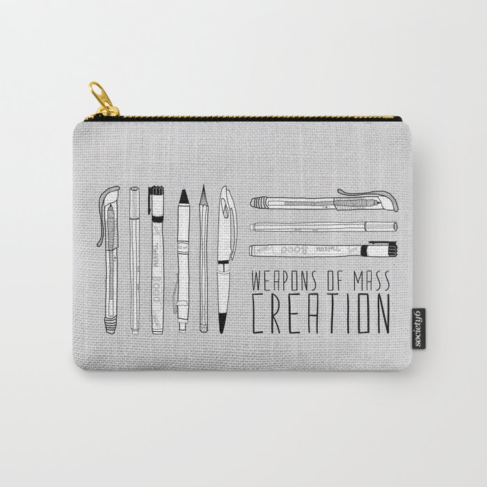weapons of mass creation Carry-All Pouch