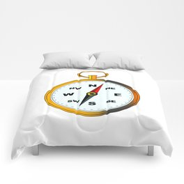 Golden Compas Comforters