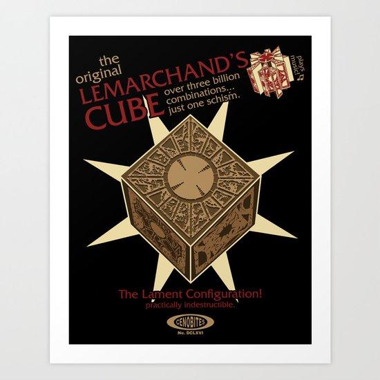 Lemarchand's Cube - Hellraiser Art Print