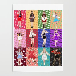 finally introducing... LOONA! Poster
