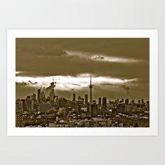 TORONTO CITY Art Print