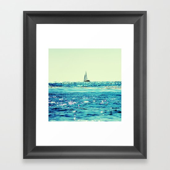 Sailin' Framed Art Print