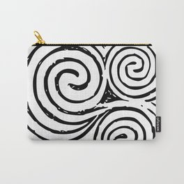 Newgrange Celtic Spiral Carry-All Pouch