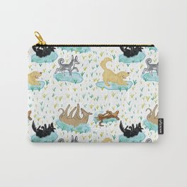 Puppies and Puddles Carry-All Pouch