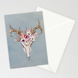 Deer Skull 2 Stationery Cards