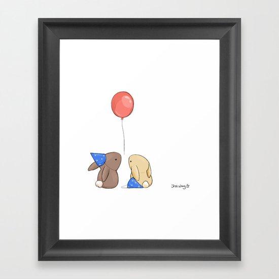 Birthdays Framed Art Print