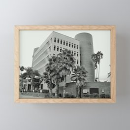Lee County Administration Building Framed Mini Art Print