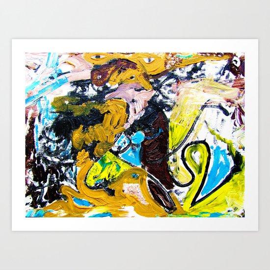 """Secret-Society"" Art Print"