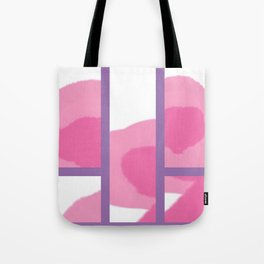 Expressive Windows of Purple Tote Bag