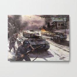 Glory of Generals poster Metal Print