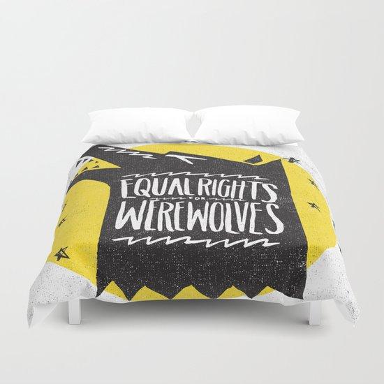 WEREWOLF RIGHTS Duvet Cover
