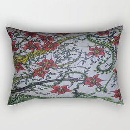 Tigerlilly Rectangular Pillow