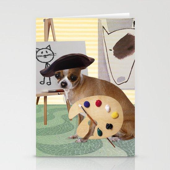 Zee Arteest! Stationery Cards