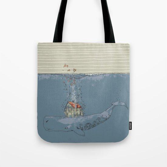 Ocean Home Tote Bag
