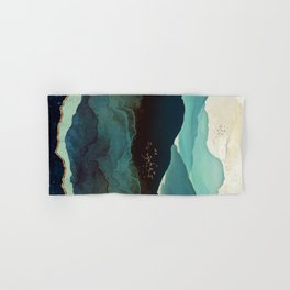 Indigo Mountains Hand & Bath Towel