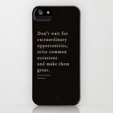 Seize common occasions Slim Case iPhone (5, 5s)