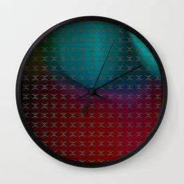 Blighted Crosswalk Wall Clock