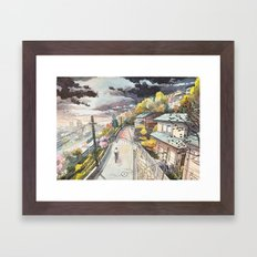 Bicycle Boy 08 Framed Art Print